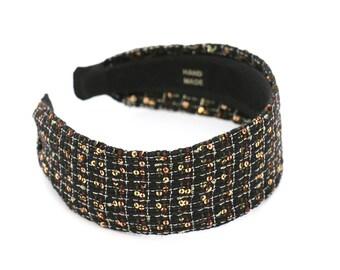 Sequin wide headbands, headbands for women, autumn headbands, headbands for winter