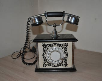 An old director phone.  USSR Rotary Telephone