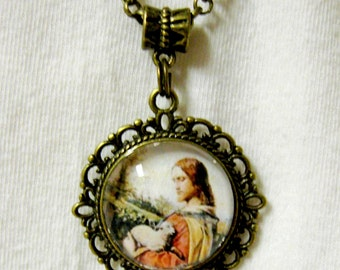 The Good Shepherd necklace - AP17-106