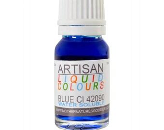 BLUE Colour (CI 42090 Aqua) for Soaps, Creams and Candles