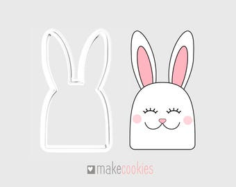 Bunny #6 Cookie Cutter