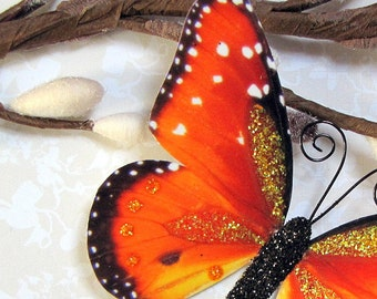 Butterfly Embellishments Apricot