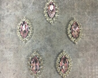 Rhinestone buttons, rhinestone centers, headband supplies, silver button, silver and rhinestone, flat back button, silver
