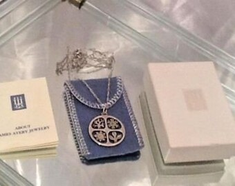 JAMES AVERY 925 Sterling Four Seasons Pendant Necklace Retired