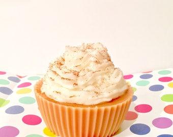 Jumbo Cinnamon Cupcake Candle
