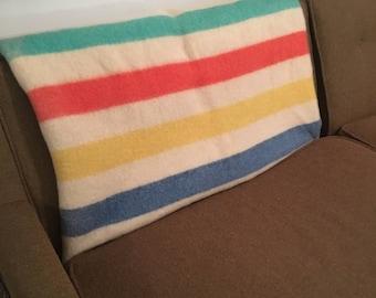 Wool Antique Cabin twin Blanket