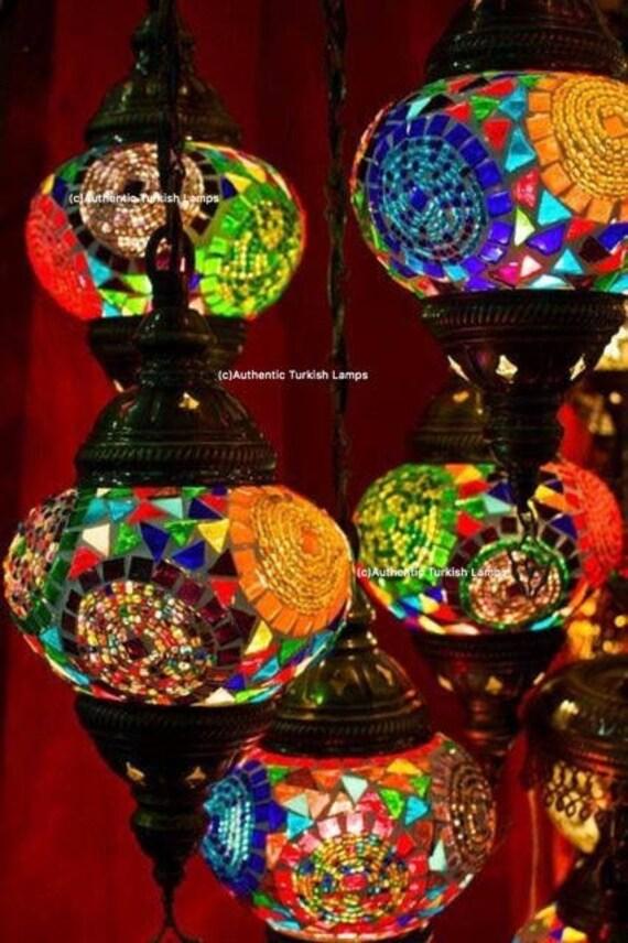 5 kugel mosaik lampen marokkanische laterne kronleuchter. Black Bedroom Furniture Sets. Home Design Ideas