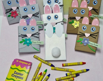 Easter Bunny Crayons