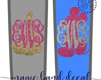 Magic Band Decal Glitter, Magic Band 2.0 Decal, Magic Band Sticker, Magic Band Monogram, Magic Band 2.0, Magic Band Skins, Character Decals