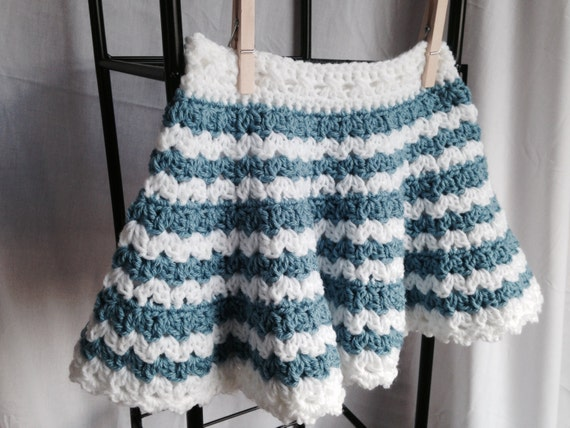 Crochet PATTERN little girls skirt crochet pattern toddler
