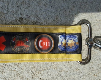 911 dispatcher themed  lip balm holder