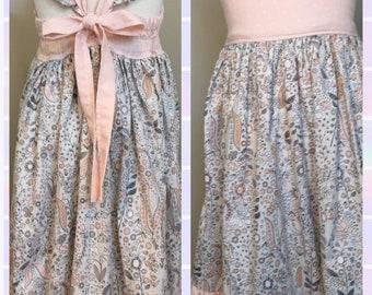 Ruffle knee length dress