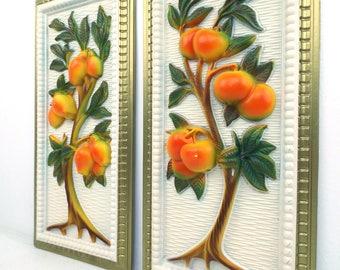 vintage. wall art. wall decor. home decor. kitchen. artwork. mid century. kitchen decor. kitchen wall art.
