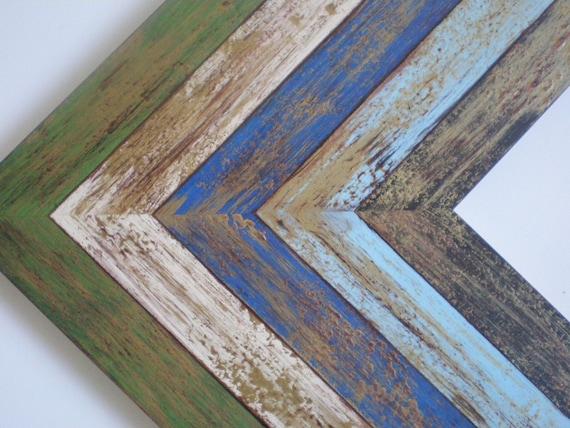 Picture frame 16x20 frame wood frame photo frame 40x50cm rustic ...