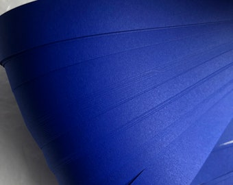 Cobalt Blue~ Moravian German Froebel Star Paper~  (50 strips)