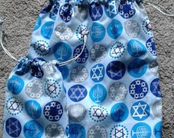 Hanukkah gift bags