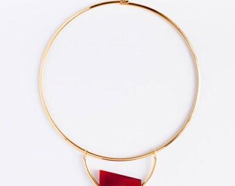 Gold Compound Pendant