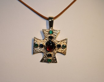 Byzantine cross etsy add to added byzantine cross nhgjewelersworkbench mozeypictures Image collections