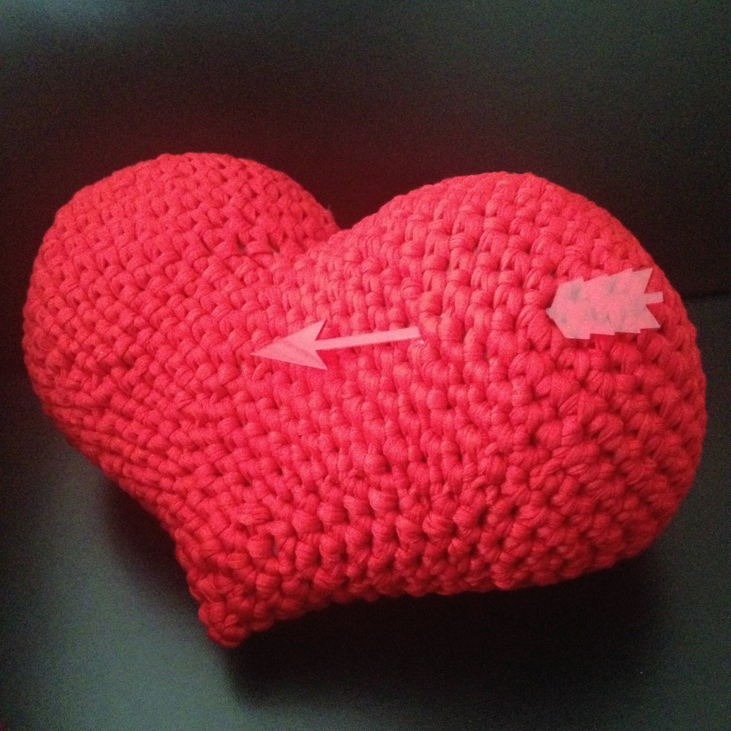 Heart amigurumi pattern saint valentine cushion pillow easy zoom bankloansurffo Images