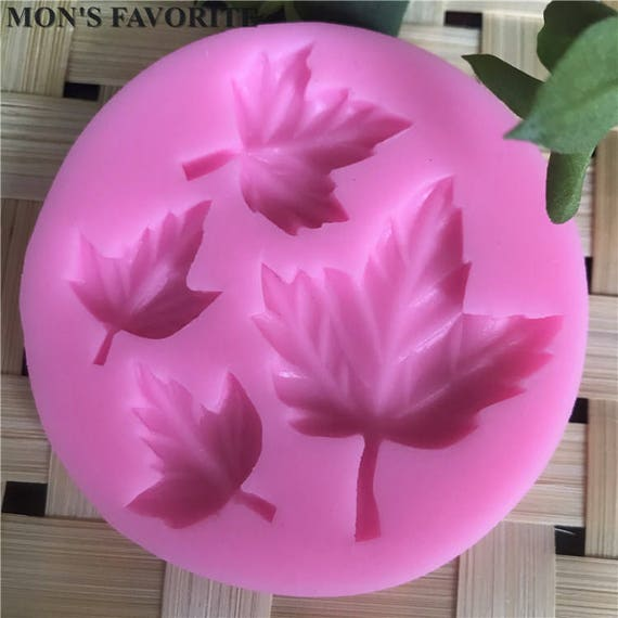 Fall leaf fun, Maple leaf silicone mold perfect for fondant, polymer clay and lots of other fun crafting