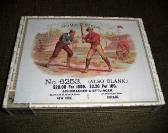 Home Strike Cigar Box Baseball Stadium