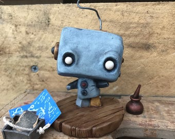 Wiggle Bot - OOAK Art Toy
