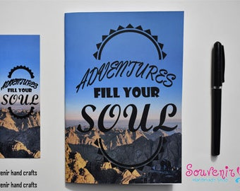 A5 Softcover Notebook (adventure)