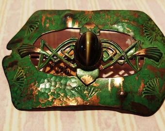 Large Vintage  Celtic Brooch