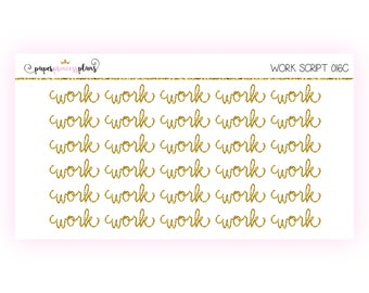 Work Scripts - 016