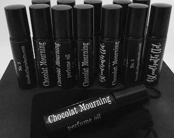 Chocolat Trauer Limited Edition Nr. 5 Parfümöl