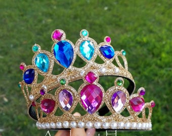 Shimmer and Shine Headband,Shimmer and Shine Costume,Shimmer and Shine Crown,Shimmer and Shine birthday,shimmer and shine Elastic Headband