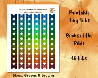 Bible Tabs Printable // Books of the Bible // Bible Journaling Tabs // Bible Journal // Tabs for Bible // Bible Reading // Bible Study