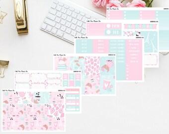 Bonjour Planner sticker kit