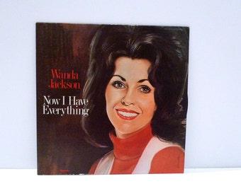 Wanda Jackson Vintage Vinyl Record Country and Western Gospel Songs Now I Have Everything Rockabilly Vocalist Religion Spiritual Album Myrrh