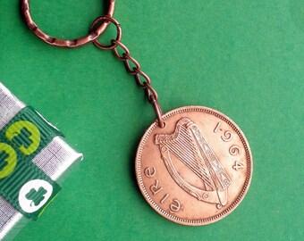 54th Irish Birthday Gift, 1964 coin from Erin's Isle, Mother's Day Gift, Father's Day Gift, An Irish Gift.