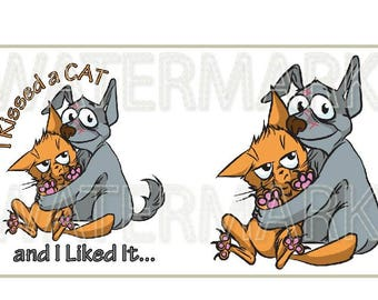 Clip Art Commercial Use | Cat Dog ClipArt for Personal or Commercial Use