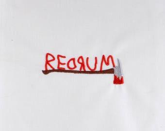Redrum ax 4x4 machine embroidery design