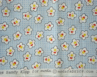 American Jane Peas and Carrots Cherries blue moda fabric FQ or more
