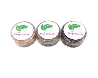 Trial Size - Mineral Bronzer - Natural Bronzer - Vegan Makeup - Cruelty Free - Vegan Bronzer - Natural Makeup - Makeup Samples - Samples