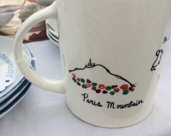 Greenville, South Carolina Mug
