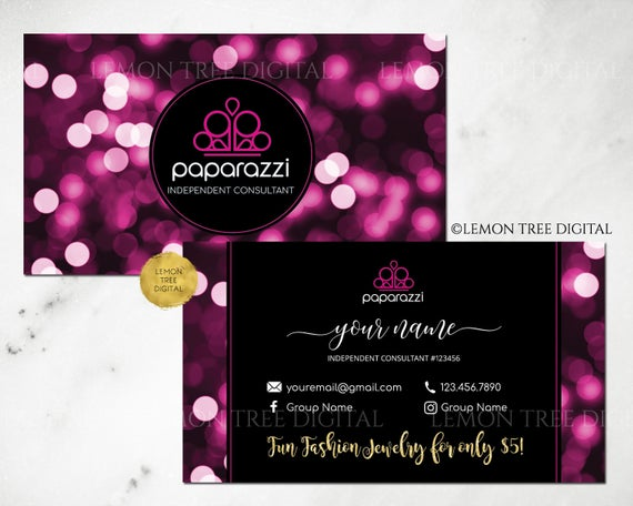 Paparazzi business cards free personalized paparazzi jewelry paparazzi business cards free personalized paparazzi jewelry consultant cardglitter bokeh for vistaprint or home printing colourmoves Choice Image
