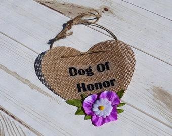 Dog of honor, Wedding Dog Bandana, Dog wedding bandana, Dog bandana, Pet wedding, Rustic, Pet wedding bandana, Customized Dog Bandana, Dog