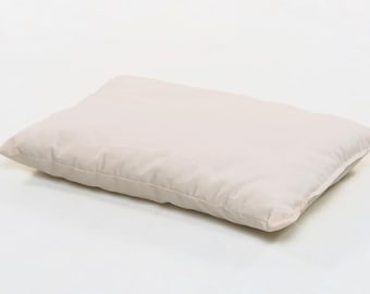 Organic Muslin & Organic Cotton Filling Toddler Pillow - Airy and Breathable
