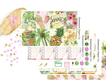 Hello Summer Classic Happy Planner Weekly Kit