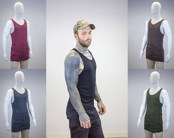 Extended Hem Layering Tank || Multiple Color Options ||