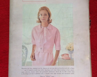 Vintage spring summer 1965 Sears catalog