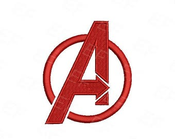 Machine Embroidery design - Avengers Embroidery design - instant download digital file