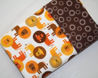 Baby Boy Blanket,Baby Receiving Blanket,Boy Baby Blanket, Flannel,Animals Lions Baby Blanket,Baby Shower Gift,Gender Neutral,Animals Blanket