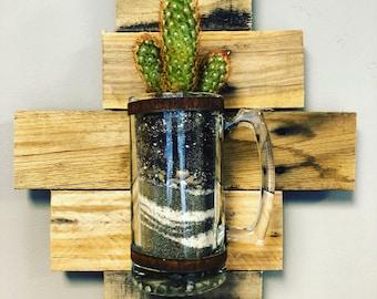 Beer Mug Terrarium