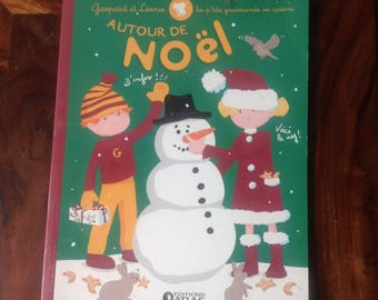 Book of activities for children around Christmas, cooking and decorating.